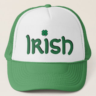 Boné Chapéu irlandês do dia do St. Patricks do trevo do