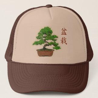 Boné Chapéu japonês do camionista do verão da árvore