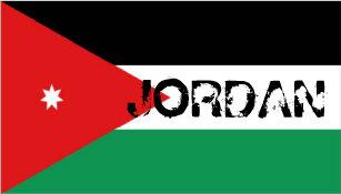 Boné Chapéu jordano da lembrança da bandeira de Jordão f6d6084b3d3