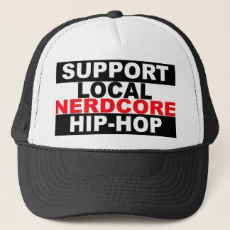 Boné Chapéu local do hip-hop de Nerdcore do apoio