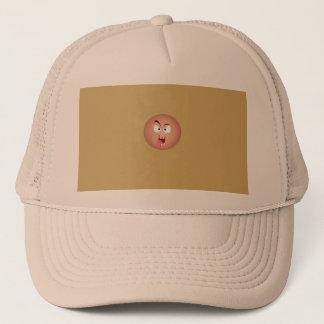 Boné Chapéu louco do camionista da cara