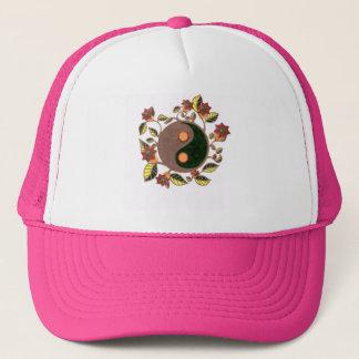 Boné Chapéu lunático do camionista de Yin Yang