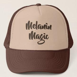 Boné Chapéu mágico do camionista da melanina