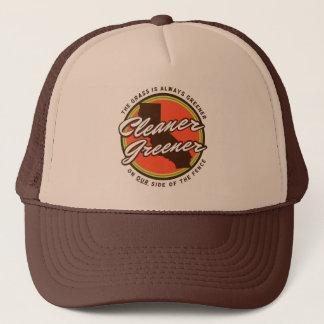 Boné Chapéu mais verde mais limpo do camionista de Cali