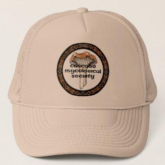 Boné Chapéu micológico do logotipo da sociedade da