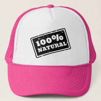 Boné Chapéu natural do camionista de 100%