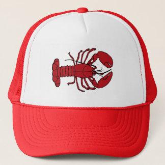 Boné Chapéu náutico do camionista da praia da lagosta