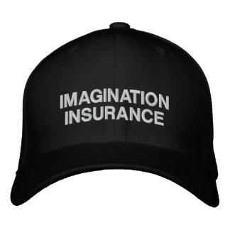 Boné Chapéu negro do seguro da imaginação