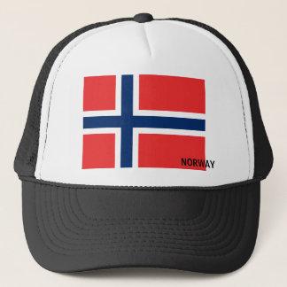 Boné Chapéu norueguês da bandeira