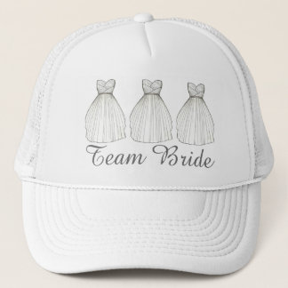 Boné Chapéu nupcial do partido do vestido do vestido de