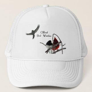 Boné Chapéu oficial do observador de pássaro