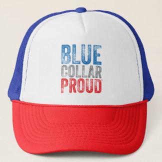 Boné Chapéu orgulhoso do camionista do colarinho azul