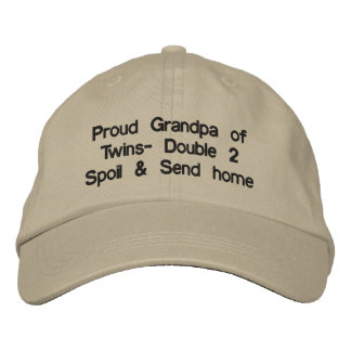 Boné Chapéu orgulhoso do vovô