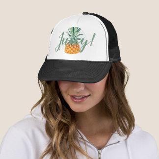 Boné Chapéu pálido suculento à moda e Funky do abacaxi
