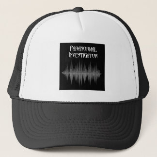 Boné Chapéu Paranormal de Soundwave do investigador