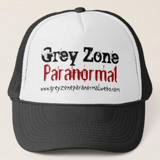 Boné Chapéu Paranormal do camionista da zona cinzenta