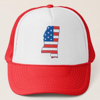 Boné Chapéu patriótico de Mississippi