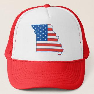 Boné Chapéu patriótico de Missouri