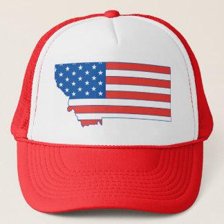 Boné Chapéu patriótico de Montana