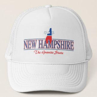Boné Chapéu patriótico de New Hampshire