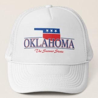 Boné Chapéu patriótico de Oklahoma