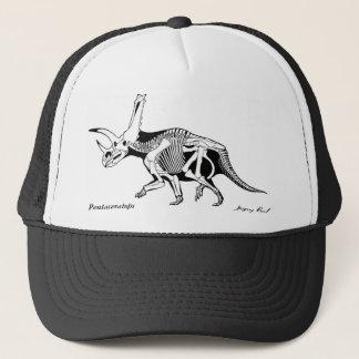 Boné Chapéu Pentaceratops Gregory de esqueleto Paul do