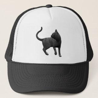 Boné Chapéu pernicioso do gato preto
