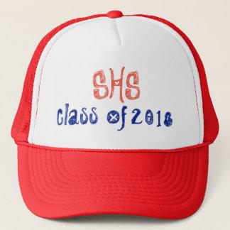 Boné Chapéu personalizado do camionista da graduação da