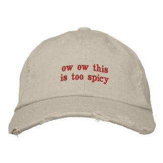 Boné chapéu picante