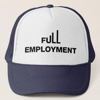 Boné Chapéu pleno emprego do camionista