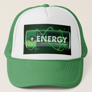 Boné Chapéu positivo do Bloco-Camionista da energia