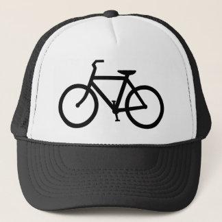 Boné Chapéu preto da bicicleta