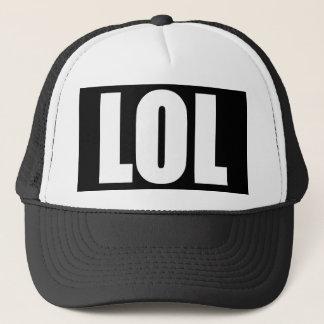 Boné Chapéu preto e branco de LOL