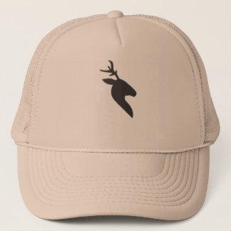 Boné Chapéu principal do camionista do cervo preto