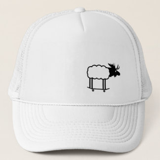 Boné Chapéu radical do tucker do cordeiro dos alces