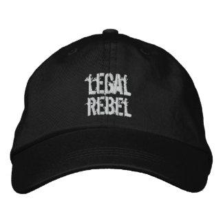 Boné Chapéu rebelde legal