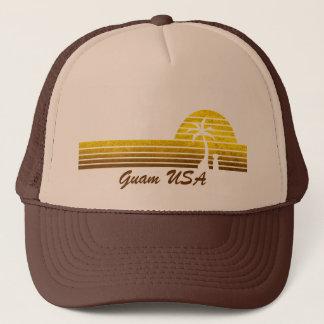Boné Chapéu retro do camionista de Guam