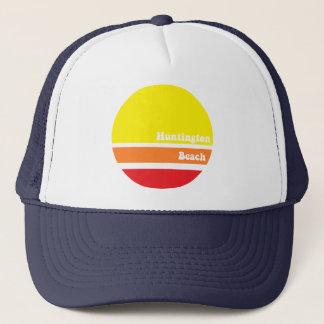 Boné Chapéu retro do camionista de Huntington Beach