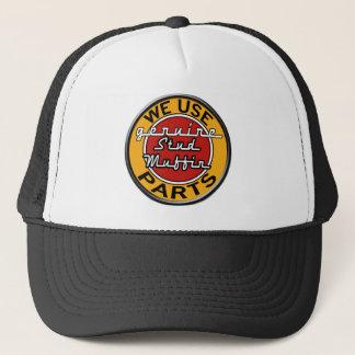 Boné Chapéu retro do muffin do parafuso prisioneiro