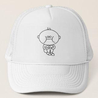 Boné chapéu subtil do doodle do miúdo