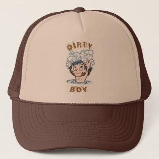 Boné Chapéu sujo do menino