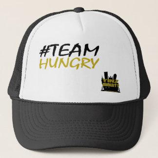 Boné Chapéu #TeamHungry do camionista