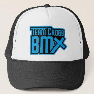 Boné Chapéu transversal do camionista da equipe BMX