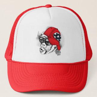 Boné Chapéu urbano do camionista do macaco