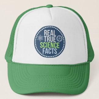 Boné Chapéu verdadeiro real dos fatos da ciência
