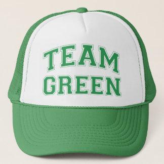 Boné Chapéu verde da equipe
