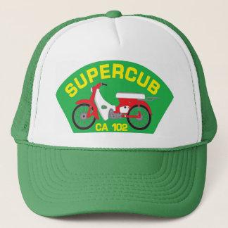 Boné Chapéu verde do remendo de SuperCub
