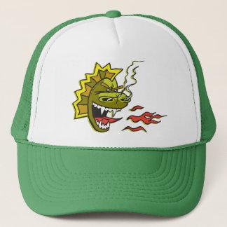 Boné Chapéu verde grande do camionista de Smokie
