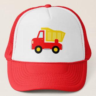 Boné Chapéu vermelho bonito do camionista do camião