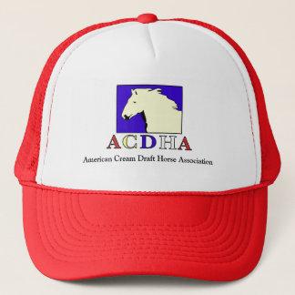 Boné Chapéu vermelho & branco de ACDHA moderno